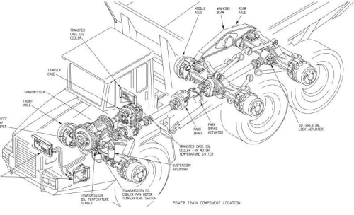 First Additional product image for - BELL B35C and B40C Articulated Dump Truck Diagnostic, Operation and Test Service Manual  (tm1815)