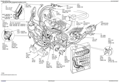 BELL B35C and B40C Articulated Dump Truck Diagnostic