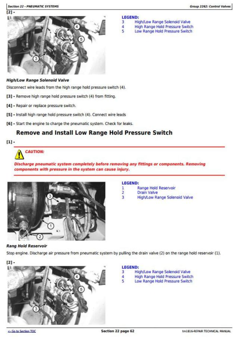 Third Additional product image for - BELL B35C and B40C Articulated Dump Truck Service Repair Technical Manual (tm1816)