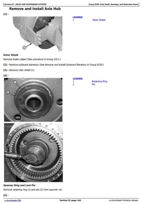 Fourth Additional product image for - BELL B35C and B40C Articulated Dump Truck Service Repair Technical Manual (tm1816)