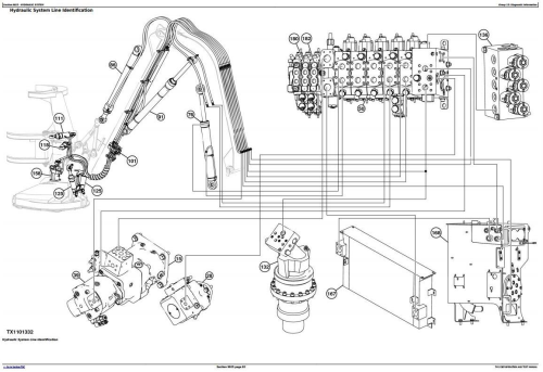 Fourth Additional product image for - John Deere 753J, 759J Tracked Harvester (SN.from C220453) Diagnostic & Test Service Manual (TM12387)