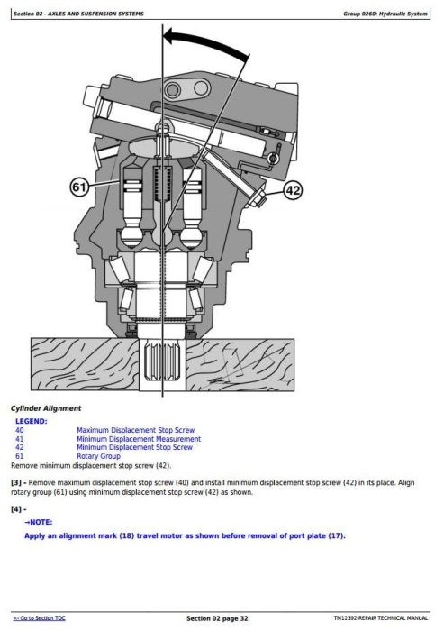 Second Additional product image for - John Deere 703JH, 753JH, 759JH Tracked Harvester (SN. from C220453) Service Repair Manual (TM12392)