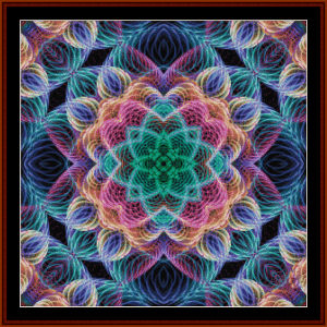Fractal 700 cross stitch pattern by Cross Stitch Collectibles | Crafting | Cross-Stitch | Other