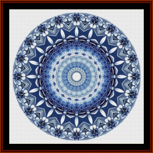Fractal 701 cross stitch pattern by Cross Stitch Collectibles | Crafting | Cross-Stitch | Other