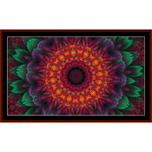 Fractal 702 cross stitch pattern by Cross Stitch Collectibles | Crafting | Cross-Stitch | Other