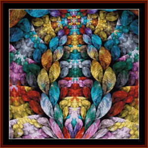Fractal 707 cross stitch pattern by Cross Stitch Collectibles | Crafting | Cross-Stitch | Other