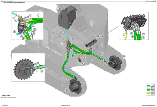 Fourth Additional product image for - John Deere 803MH, 853MH (Open-Loop) Harvester(SN.from 270423) Diagnostic Service Manual (TM13149X19)