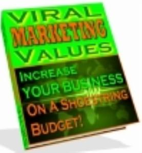 Viral Marketing Values | eBooks | Internet
