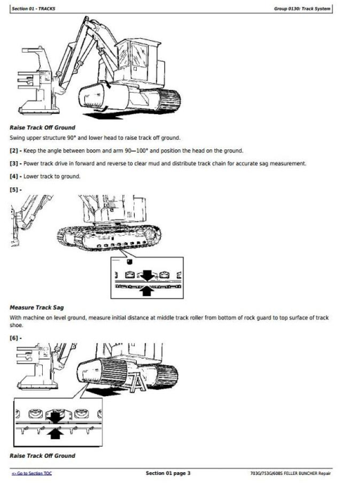 Second Additional product image for - John Deere 703G/753G/608S Feller Buncher(Track Harvester) Service Repair Technical Manual(TMF387449)