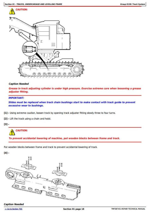 Second Additional product image for - Timberjack / John Deere 753GL, 608L Tracked Feller Buncher (Harvester) Service Repair Manual (TMF387451)