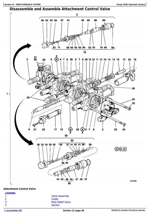 Fourth Additional product image for - Timberjack / John Deere 753GL, 608L Tracked Feller Buncher (Harvester) Service Repair Manual (TMF387451)