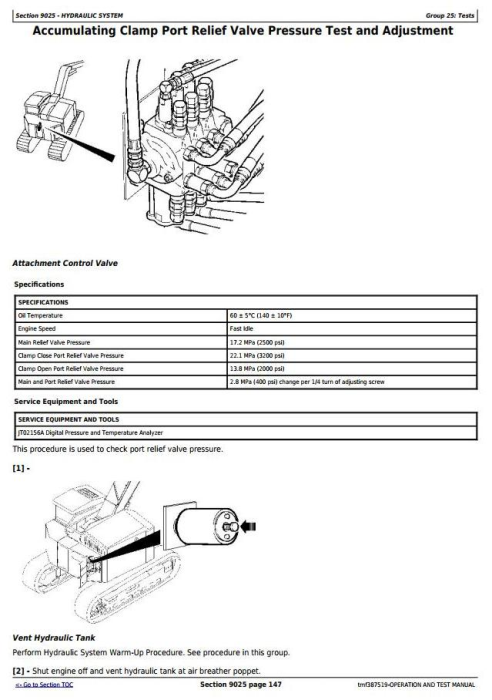 Fourth Additional product image for - Timberjack/John Deere 608B Feller Buncher/Harvester(SN.005014-) Diagnostic Service Manual(tmf387519)