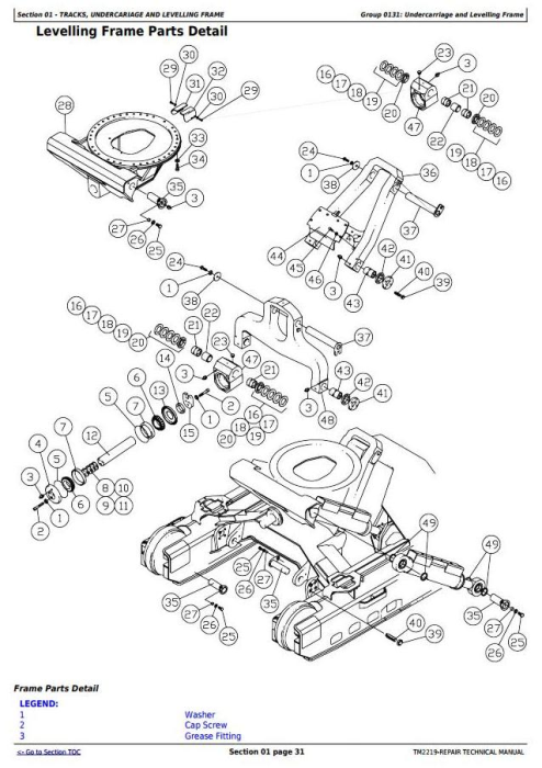 Second Additional product image for - John Deere 759G (SN.001032-), 608L Tracked Feller Buncher (Harvester) Service Repair Manual (TM2219)