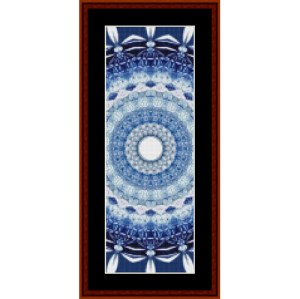 fractal 701 bookmark by cross stitch collectibles