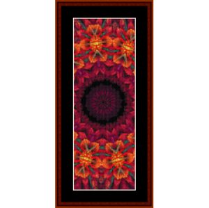 Fractal 702 Bookmark by Cross Stitch Collectibles | Crafting | Cross-Stitch | Other