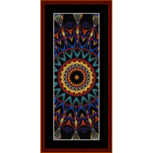 fractal 704 bookmark by cross stitch collectibles