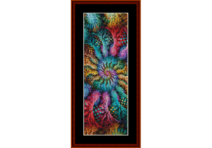 fractal 705 bookmark by cross stitch collectibles