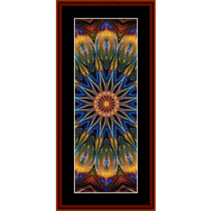 fractal 706 bookmark by cross stitch collectibles