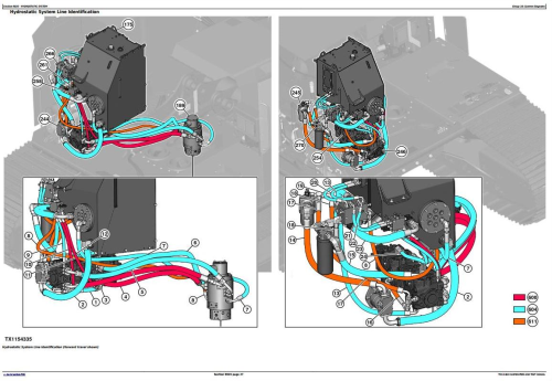 Fourth Additional product image for - John Deere 859MH (Closed-Loop Hydr.Div) Harvester(SN.270423-) Diagnostic Service Manual (TM13184X19)