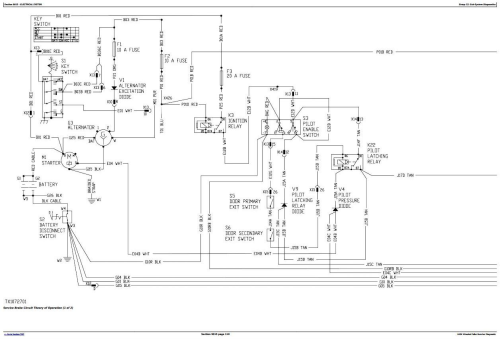 Second Additional product image for - John Deere 643K Wheeled Feller Buncher, Harvester Diagnostic, Operation&Test Service Manual(TM11361)