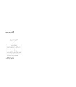 John Deere 310e Backhoe Loader Operator Manual Omt184374 | eBooks | Automotive