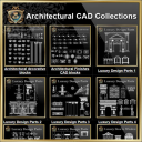 Architectural CAD Drawings Bundle-Best Collections!! | Photos and Images | Architecture