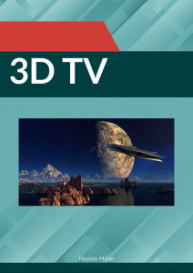 3d tv. incl resale rights