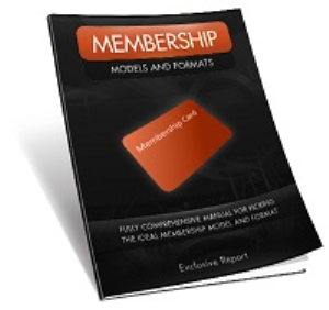 Membership Models and Formats | eBooks | Business and Money