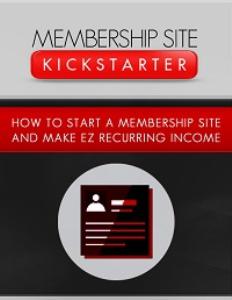 Membership Site Kickstarter | eBooks | Business and Money