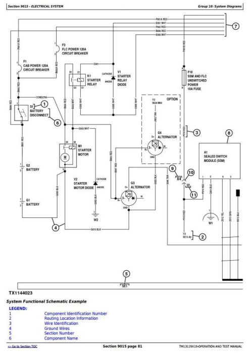 Third Additional product image for - John Deere 643L (SN.C666898-,D679126-) Wheeled Feller Buncher Diagnostic Service Manual (TM13129X19)