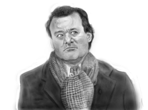 bill murray sketch