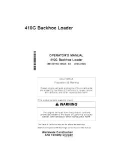 john deere 410g backhoe loader operator manual omt201153