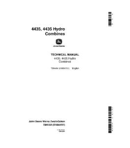 John Deere 4435 4435 Hydro Combine Service Manual Tm4464 | eBooks | Automotive