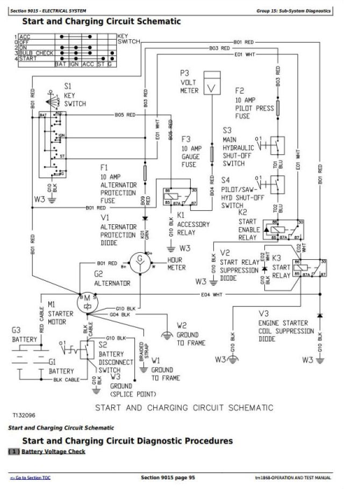Third Additional product image for - John Deere 653G  (SN.880060-) Tracked Feller Buncher Diagnostic, Op. & Test Service Manual (tm1868)