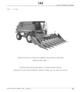 John Deere 9450 Self-Propelled Combine Parts Catalog Manual Pc2800   eBooks   Automotive