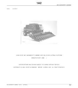 publication number: pc2181  manufacturer: john deere company  pages: 1388  instant download: no waiting   language:  english  format: pdf  		 the contents of the manual can be seen on pictures, having thumbed through pages.