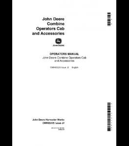 John Deere 4400 6600 7700 3300 Combine Operator Manual Omh85225 | eBooks | Automotive