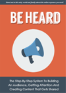 Be Heard | eBooks | Business and Money