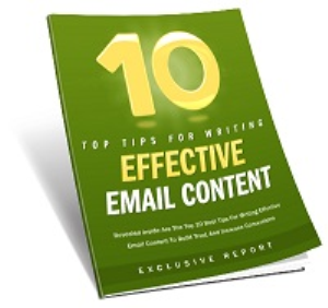 10 Tips for Effective Email Content | eBooks | Business and Money