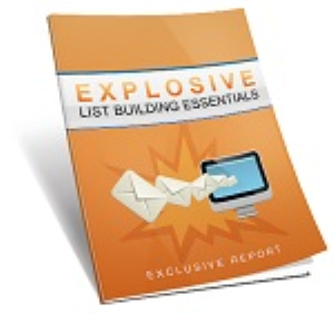 explosive list building essentials
