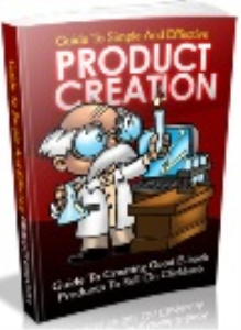 the guide to simple and effective product creation