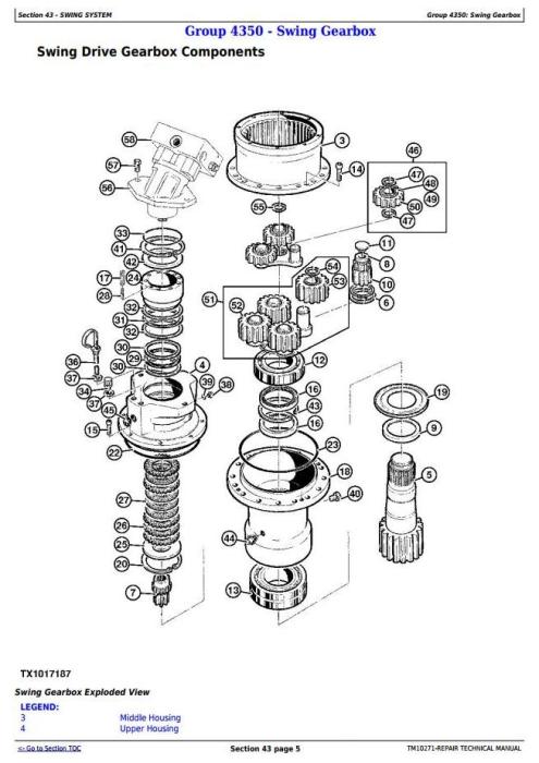 Third Additional product image for - John Deere 853J, 903J, 953J Tracked Feller Buncher Service Repair Technical Manual (TM10271)
