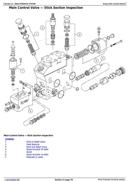 Second Additional product image for - John Deere 853G/850, 903G/900, 953G/950 Tracked Feller Buncher Service Repair Manual (TM10275)