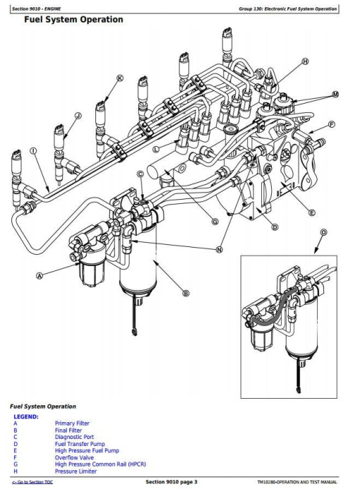 Second Additional product image for - John Deere 753G, 608S (SN.134462-) Tracked Feller Buncher Diagnostic & Test Service Manual (TM10280)