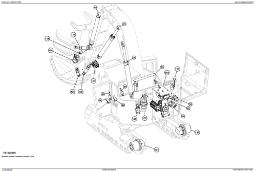 Fourth Additional product image for - John Deere 753J, 759J (SN.-220452) Tracked Feller Buncher Diagnostic & Test Service Manual (TM10510)