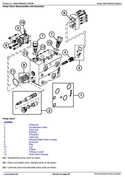 Third Additional product image for - John Deere 753J, 759J (SN.C220453-) Tracked Feller Buncher Service Repair Technical Manual (TM12397)