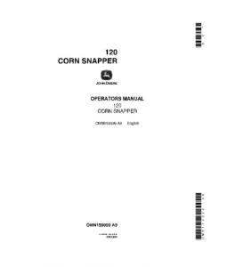 John Deere 120 Corn Snapper Operator Manual Omn159099 | eBooks | Automotive
