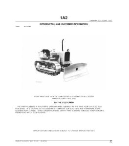 John Deere 450c Crawler Dozer Parts Catalog Manual Pc1420 | eBooks | Automotive
