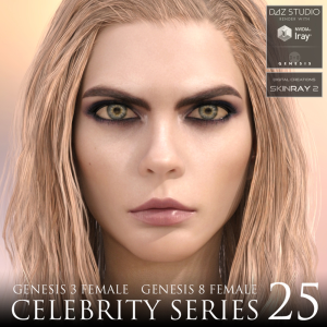celebrity series 25 for genesis 3 and genesis 8 female