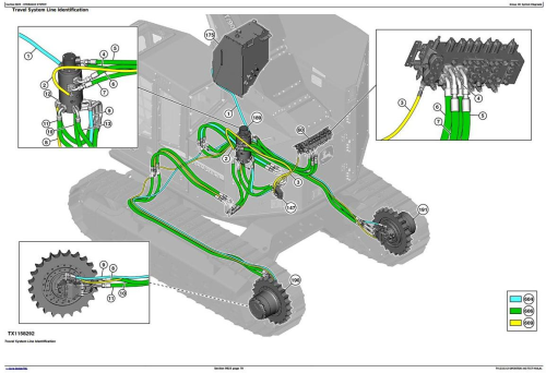 Third Additional product image for - John Deere 859M(Open-Loop Hyd.Drv) Feller Buncher (SN.270423-) Diagnostic Service Manual(TM13181X19)